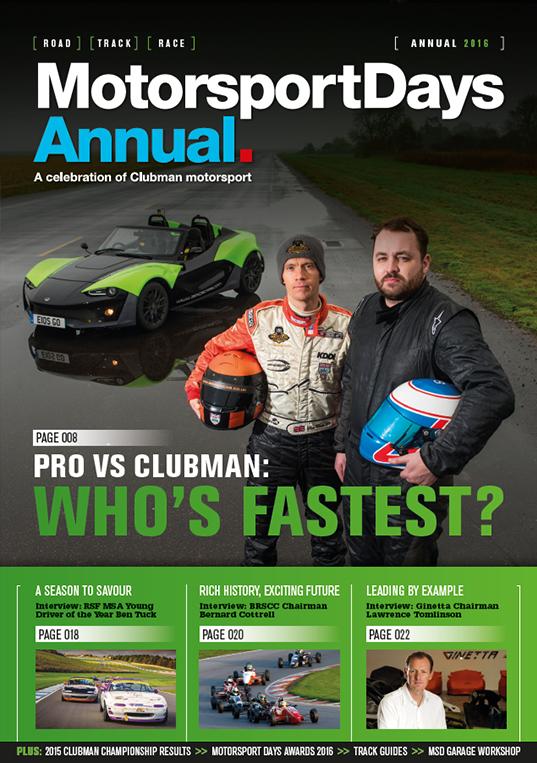MotorsportDays Annual 2016